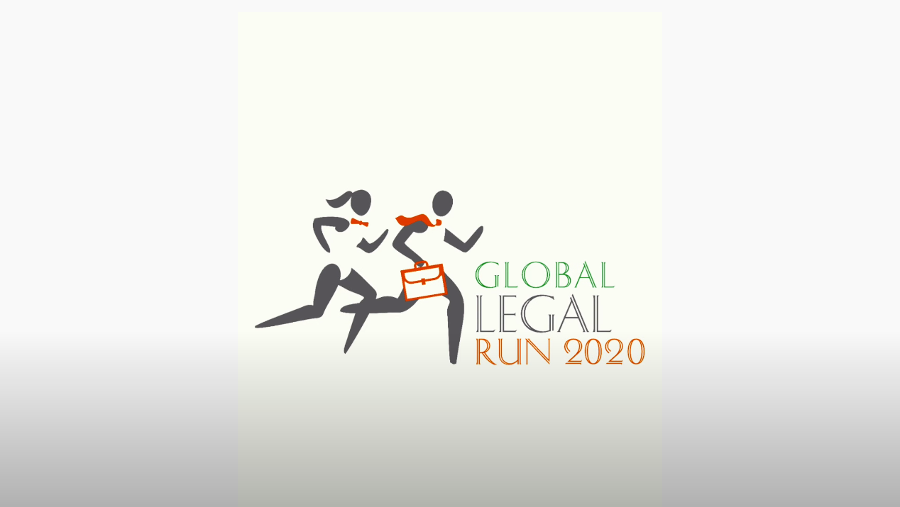 Lawyers of St. Petersburg Global Legal Run 2020 flash mob
