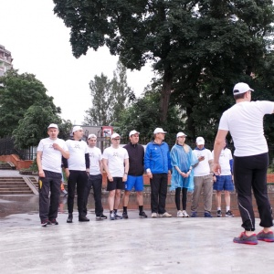 Solntsev and Partners law firm flash mob